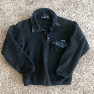 Black fuzzy Patagonia sweater